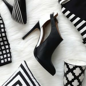 Izabella Rue color block heels